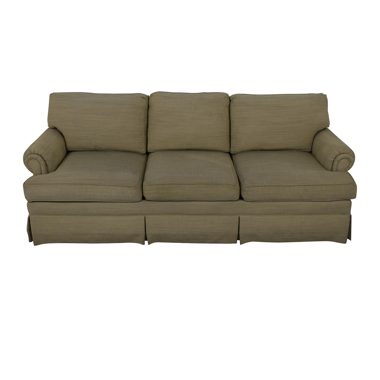 Ethan Allen Ethan Allen Three Cushion Sofa Classic Sofas