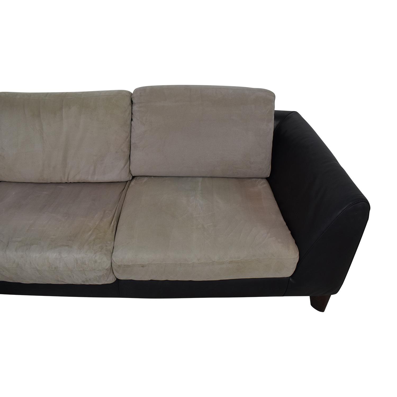Italsofa Two-Piece Sectional Sofa Sofas