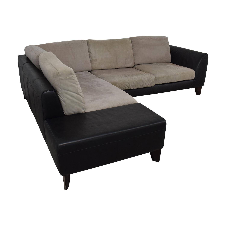 Italsofa Two-Piece Sectional Sofa / Sofas