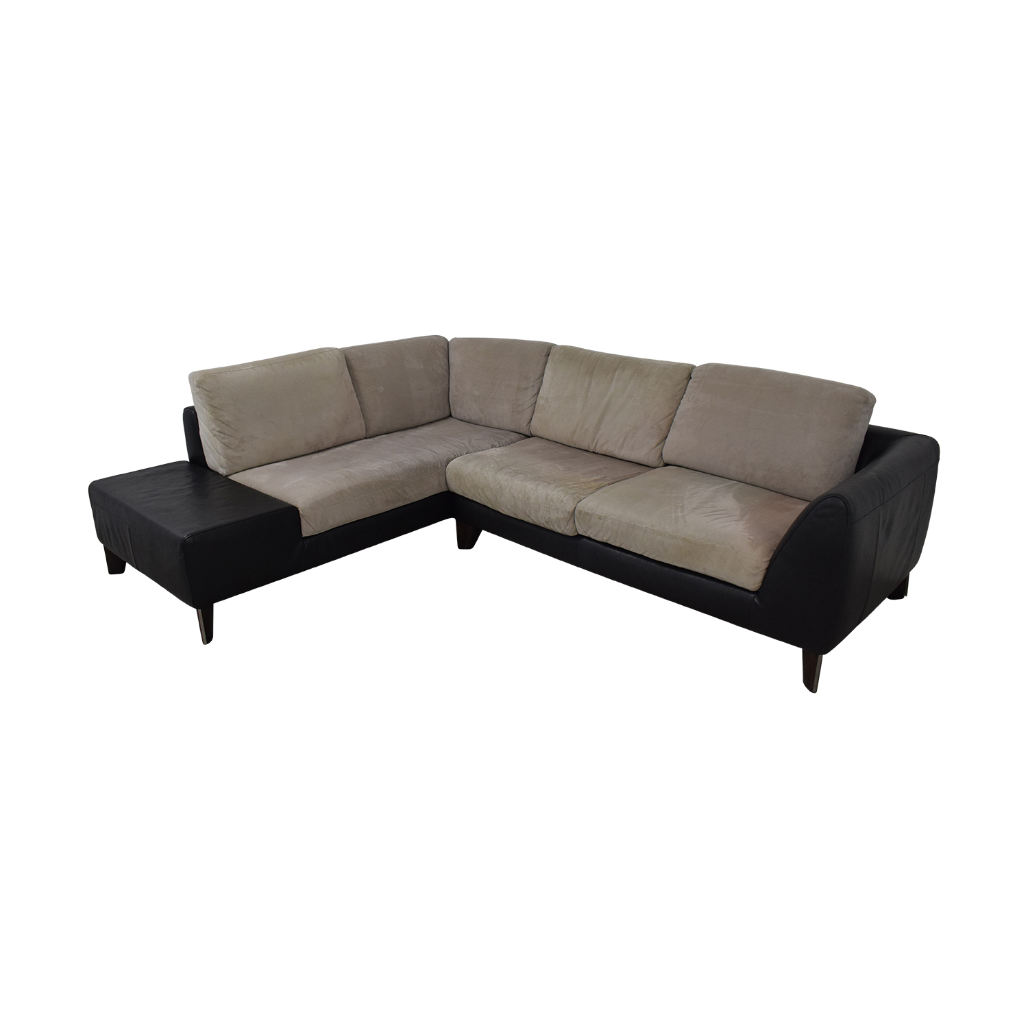 Used Sofas Online: Italsofa Two-Piece Sectional Sofa / Sofas