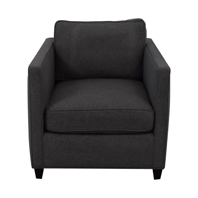 Tremendous 86 Off Flair Flair Modern Grey Accent Chair Chairs Inzonedesignstudio Interior Chair Design Inzonedesignstudiocom