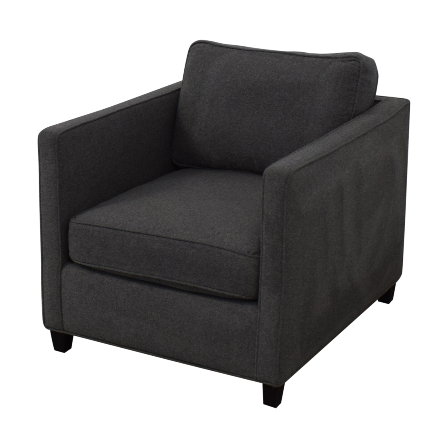 shop Modern Grey Accent Chair  Chairs