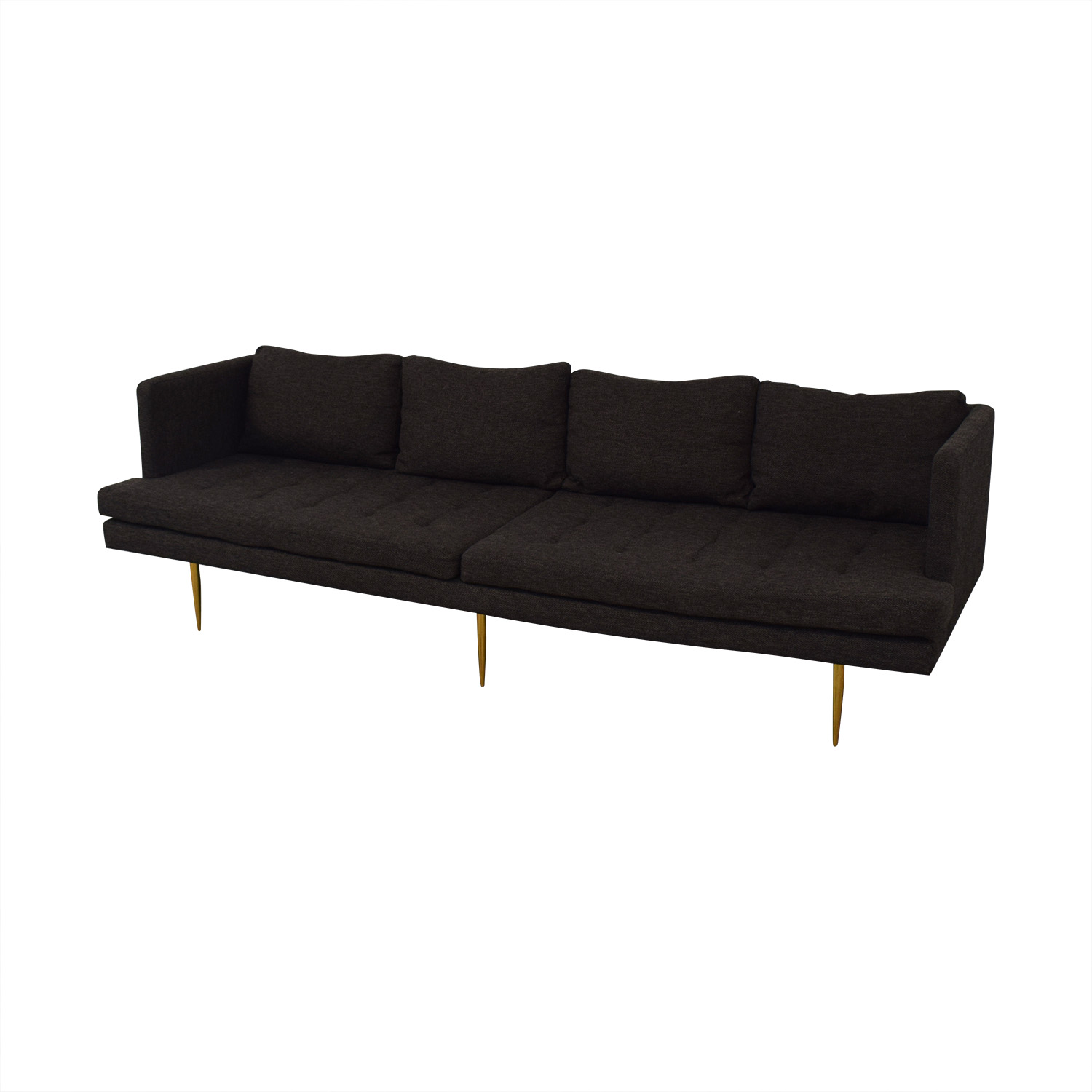 shop Organic Modernism Sienna A Long Sofa Organic Modernism Sofas