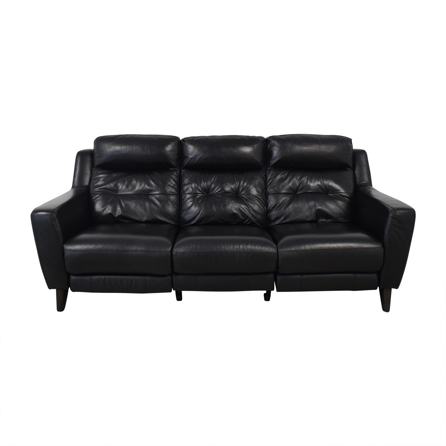 shop Bob's Discount Furniture Black Reclining Sofa Bob's Discount Furniture Classic Sofas