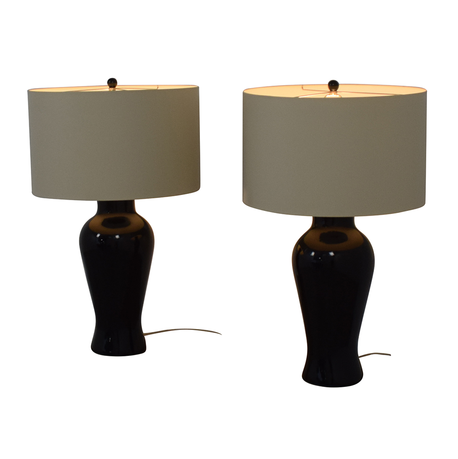 buy Barbara Cosgrove Black Ceramic Table Lamps Barbara Cosgrove Lamps