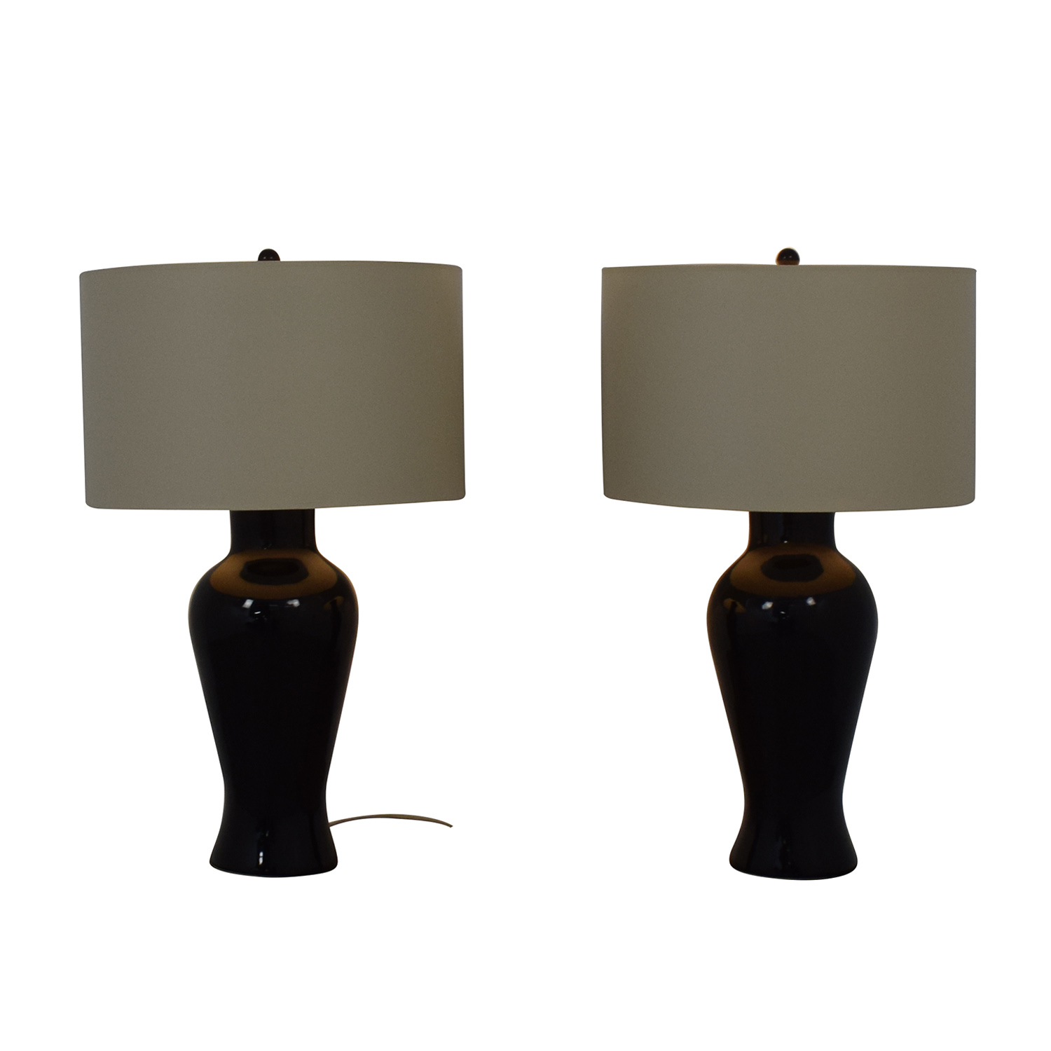 Barbara Cosgrove Barbara Cosgrove Black Ceramic Table Lamps coupon