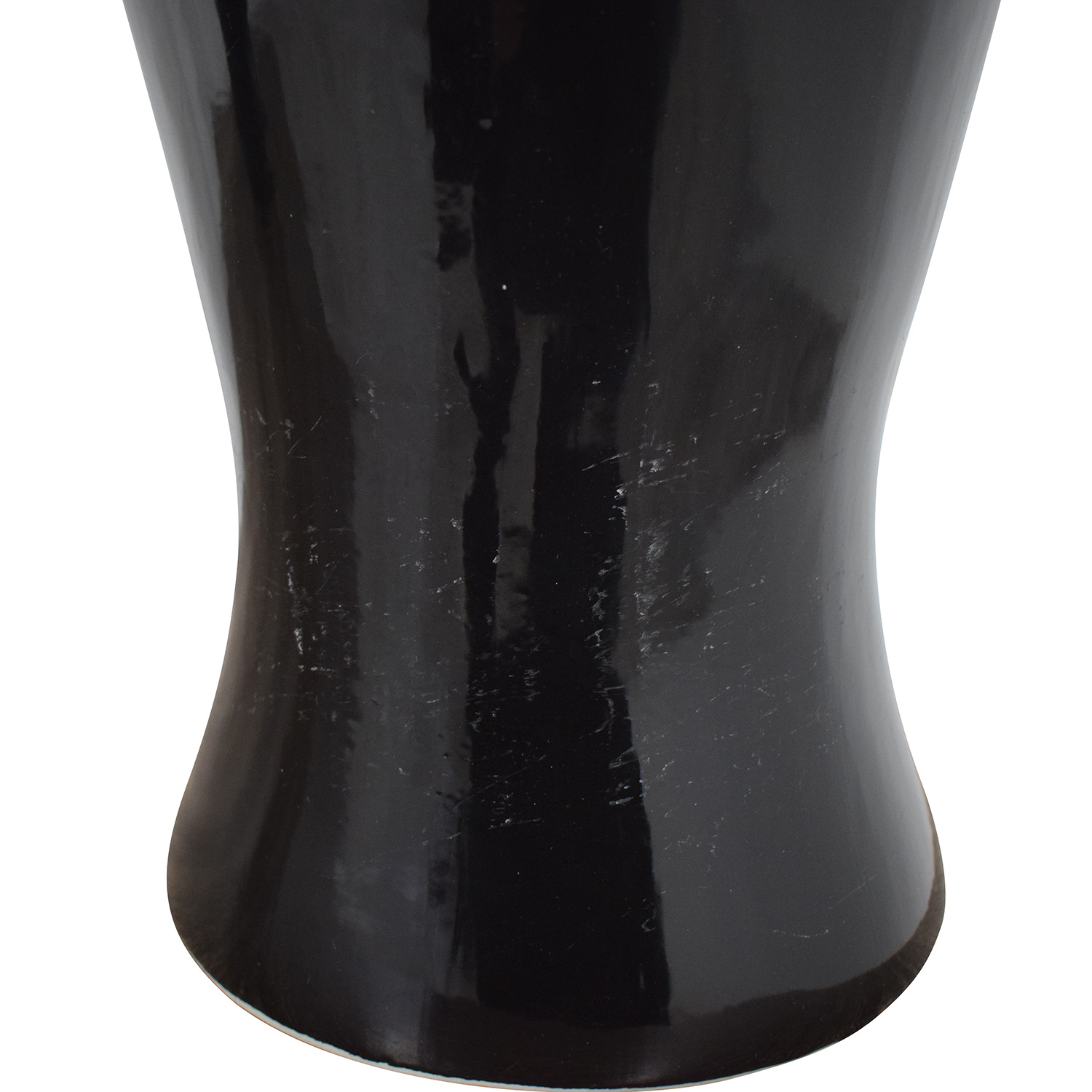 Barbara Cosgrove Black Ceramic Table Lamps / Decor