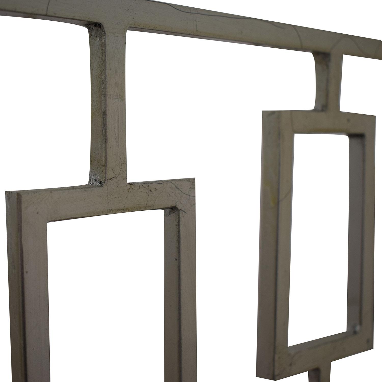Zinc Door Zinc Door Contemporary Glass Table Tables
