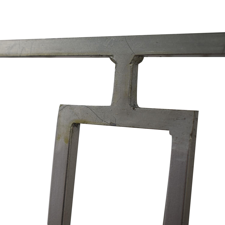 Zinc Door Zinc Door Contemporary Glass Table coupon