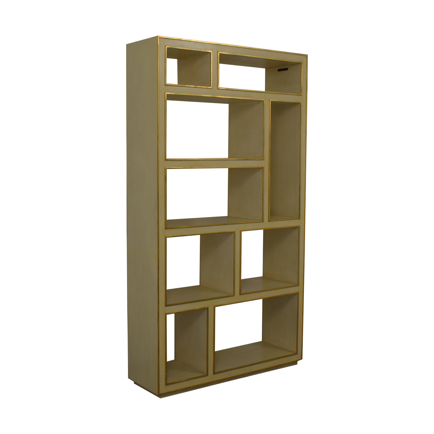 Modern History Abstract Vertical Bookcase / Bookcases & Shelving