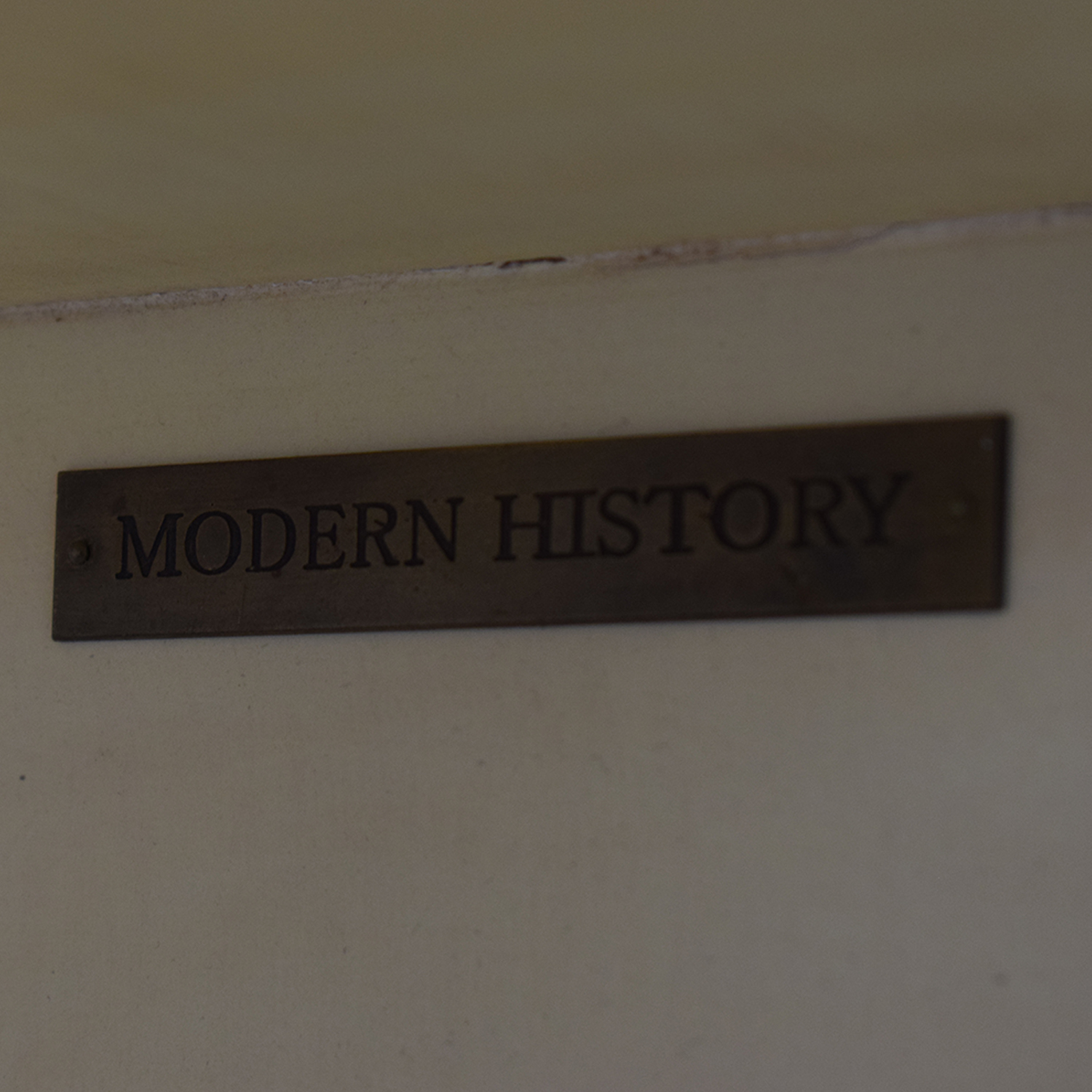 Modern History Abstract Vertical Bookcase Modern History