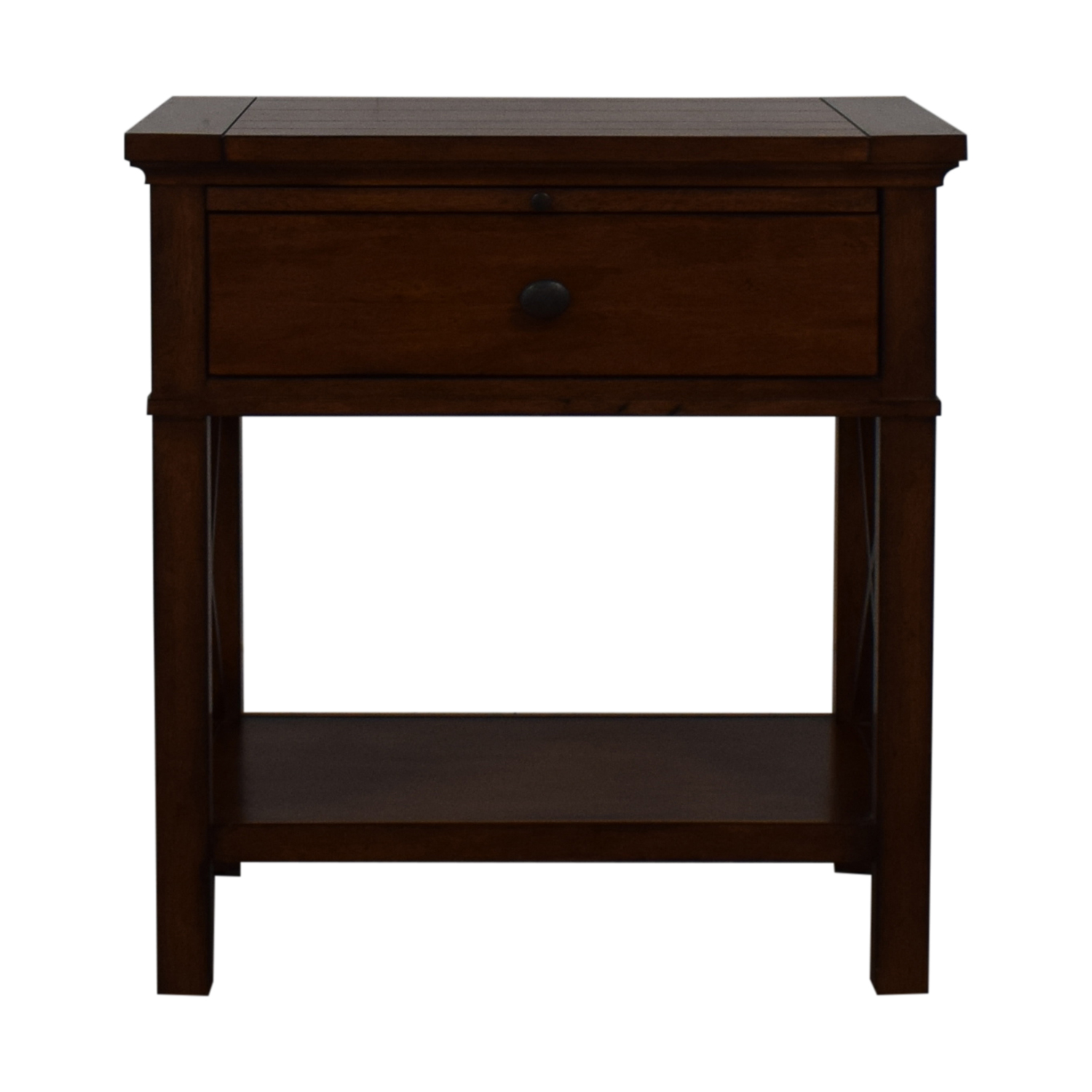 shop Ethan Allen Single Drawer Nightstand Ethan Allen