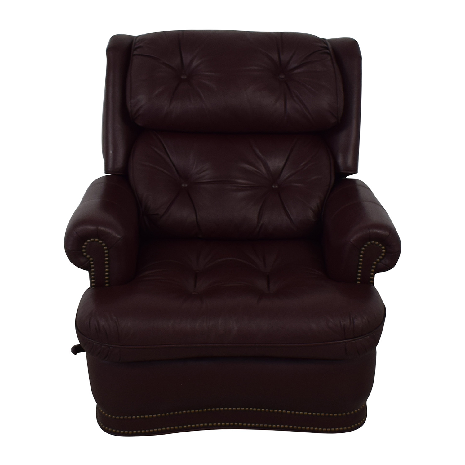Distinctions Furniture Distinctions Furniture Leather Burgundy Recliner nyc