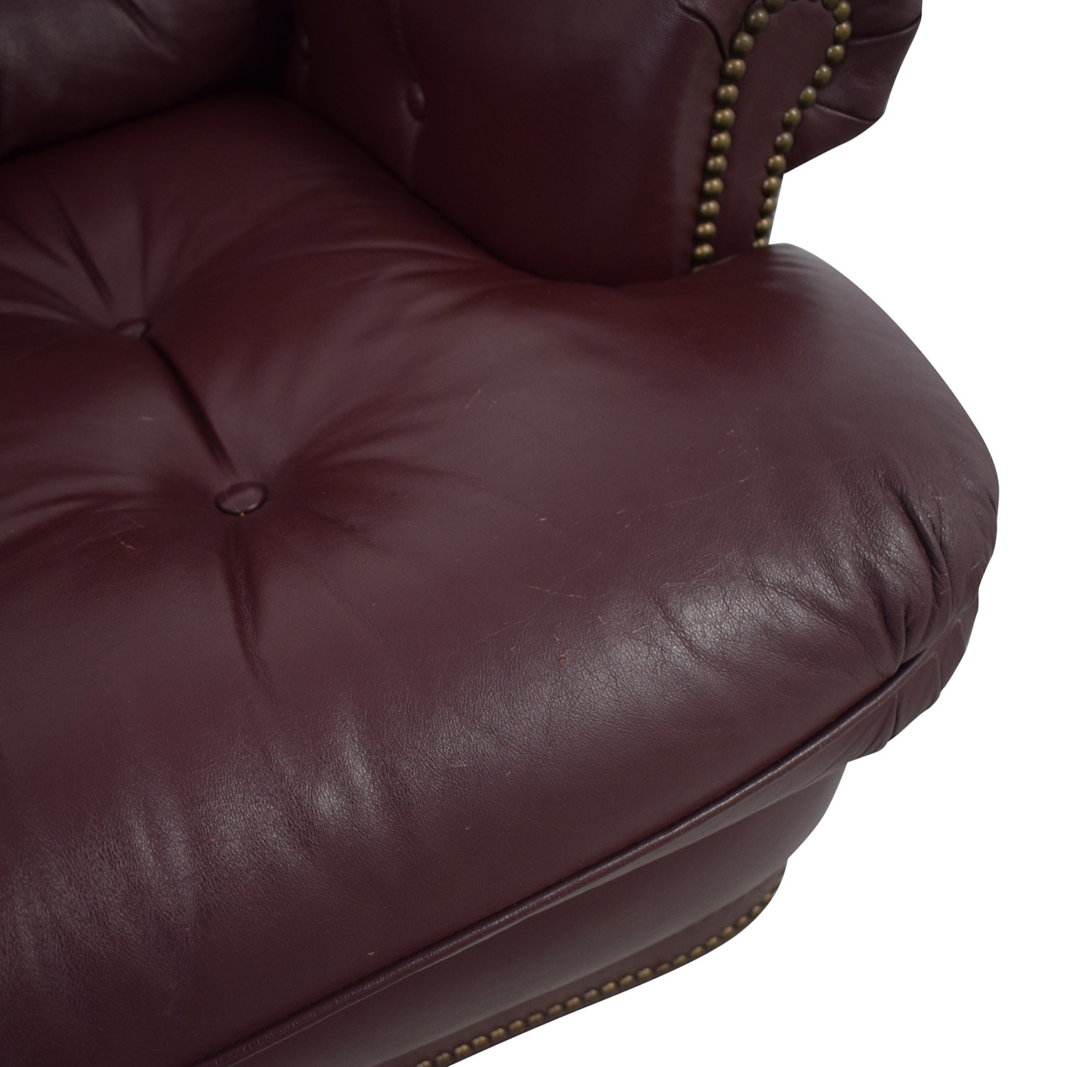 buy Distinctions Furniture Leather Burgundy Recliner Distinctions Furniture Recliners