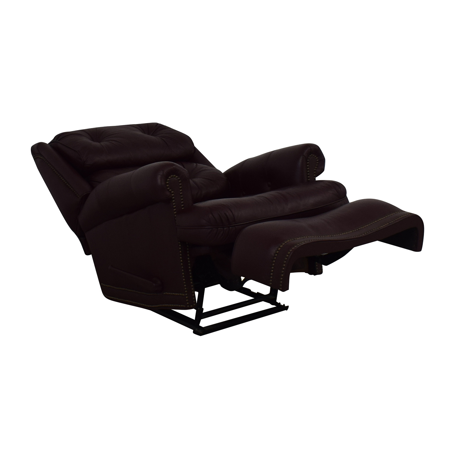 buy Distinctions Furniture Leather Burgundy Recliner Distinctions Furniture Chairs