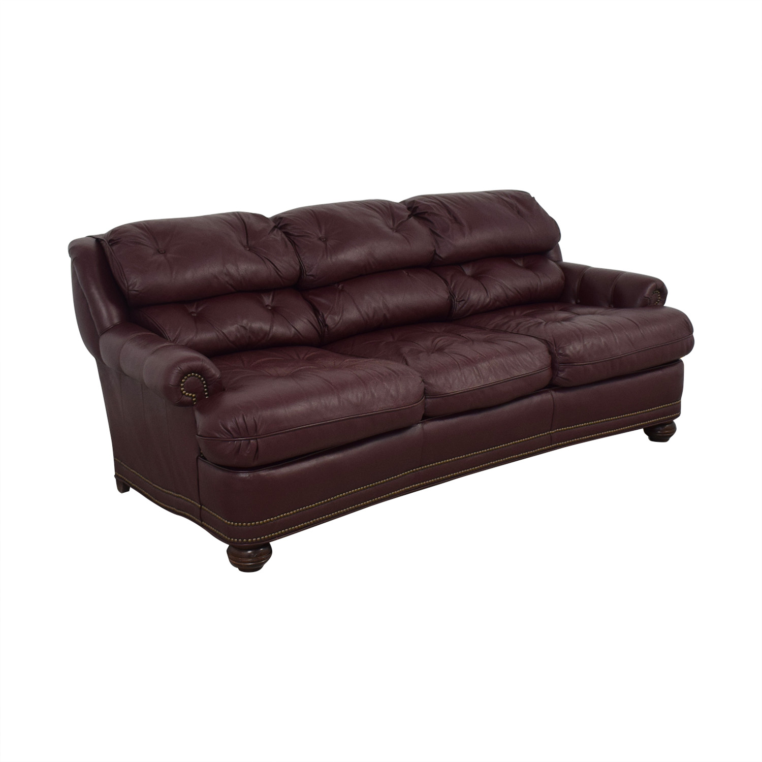 Distinctions Furniture Red Nailhead Distinctions Furniture