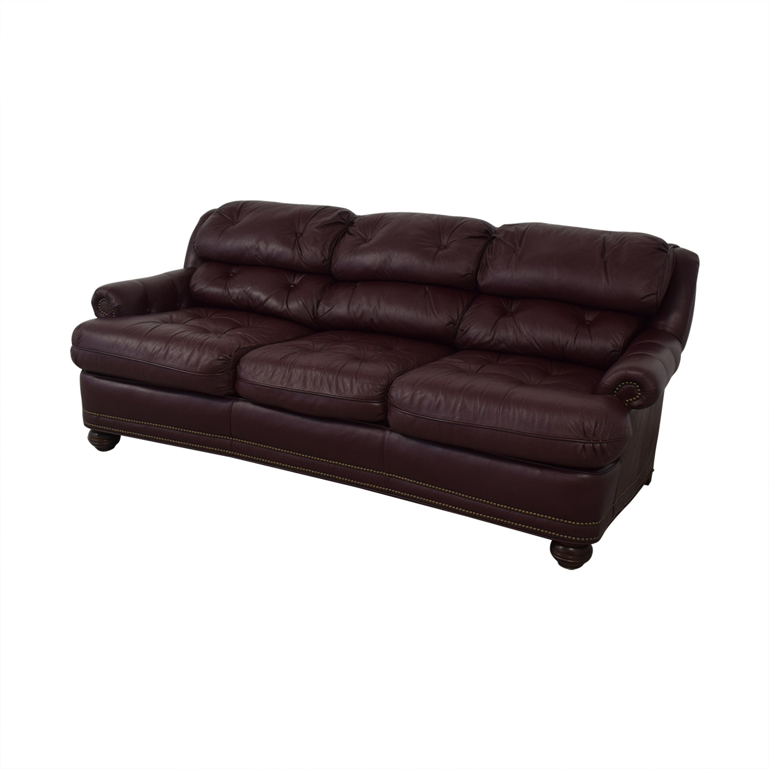 Distinctions Furniture Red Nailhead / Classic Sofas
