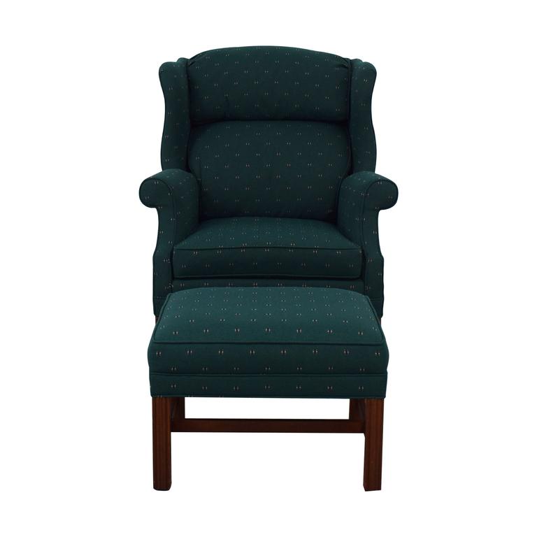 Surprising Shop Dark Green Brown Brand Furniture On Sale Uwap Interior Chair Design Uwaporg