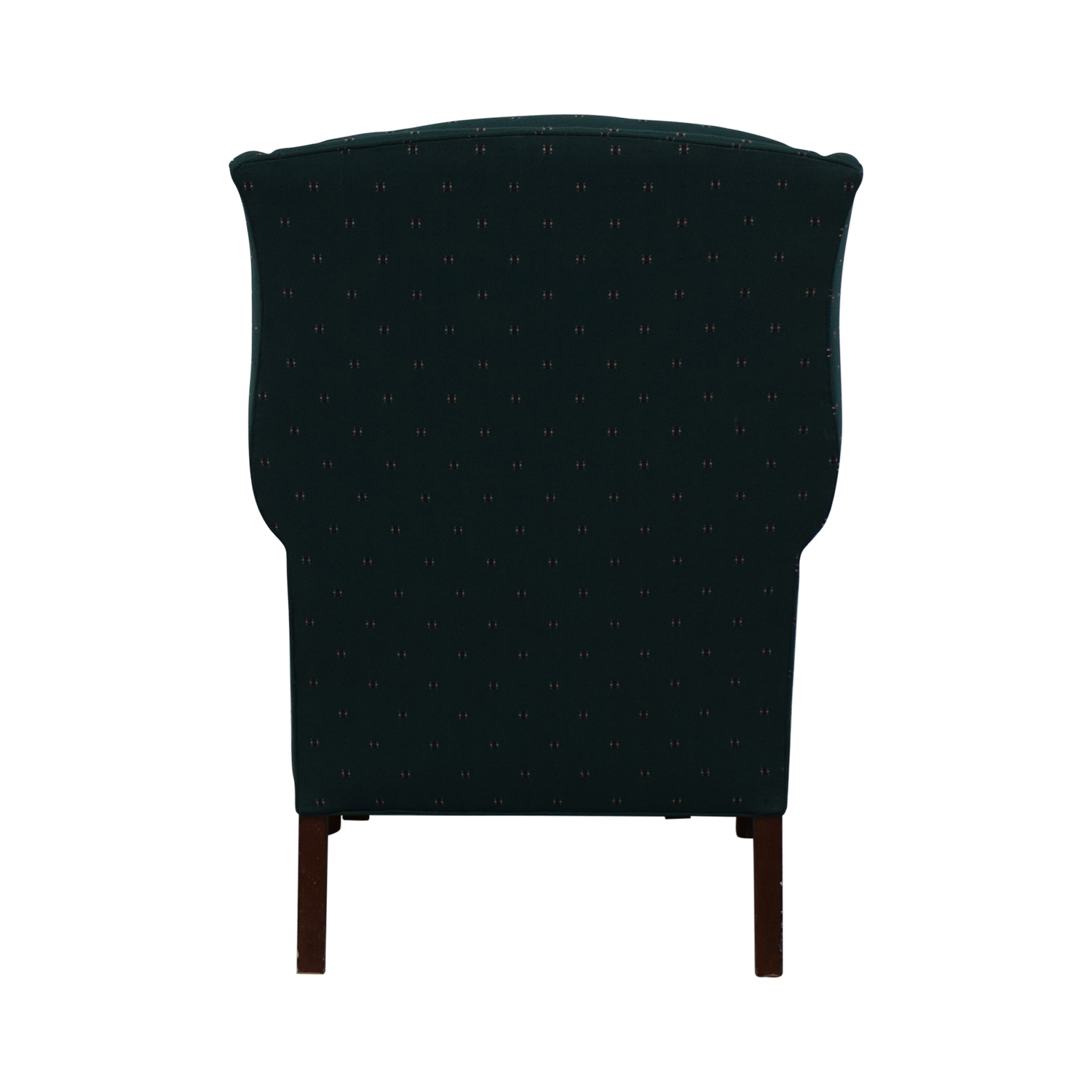 buy Conover Chair Company Green Wingback Accent Chair and Ottoman Conover Chair Company