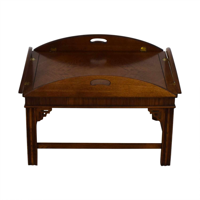 Side Folding Coffee Table on sale