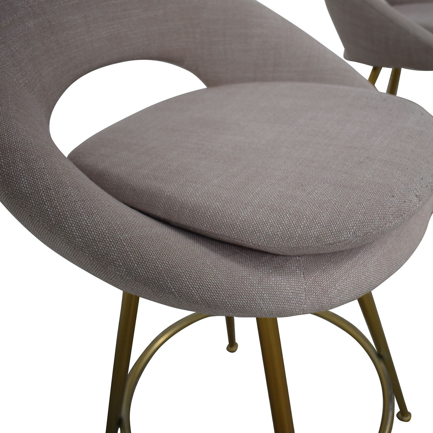 West Elm Orb Upholstered Bar Stools / Chairs