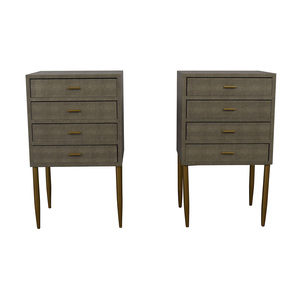 Sterling Home Sterling Home Elm Point Three Drawer Chests nyc