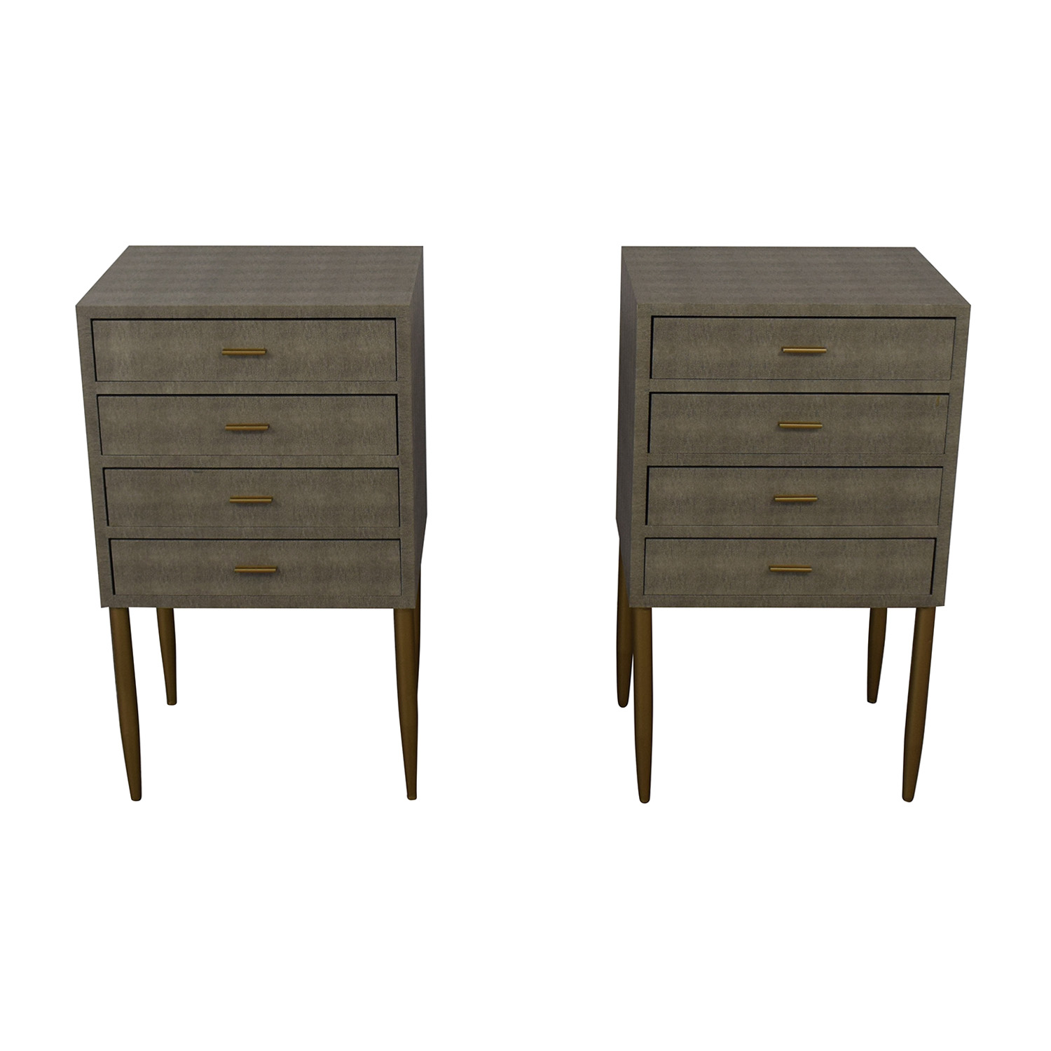 Sterling Home Sterling Home Elm Point Three Drawer Chests for sale