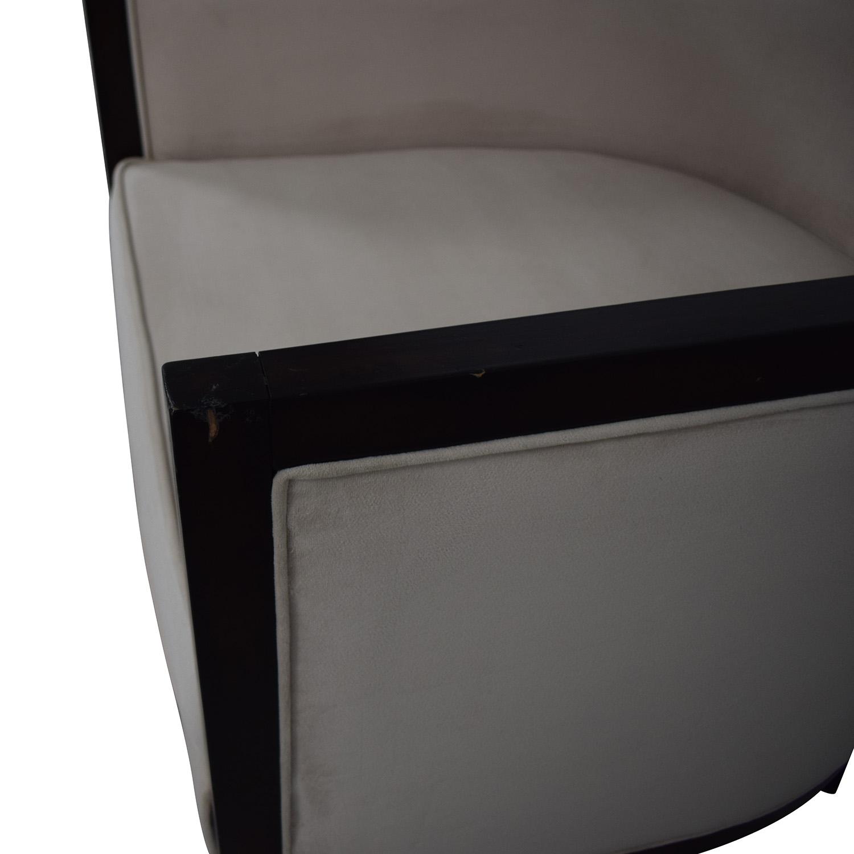 Coaster Fine Furniture Coaster Fine Furniture Leisure Cream Chair Barrel discount
