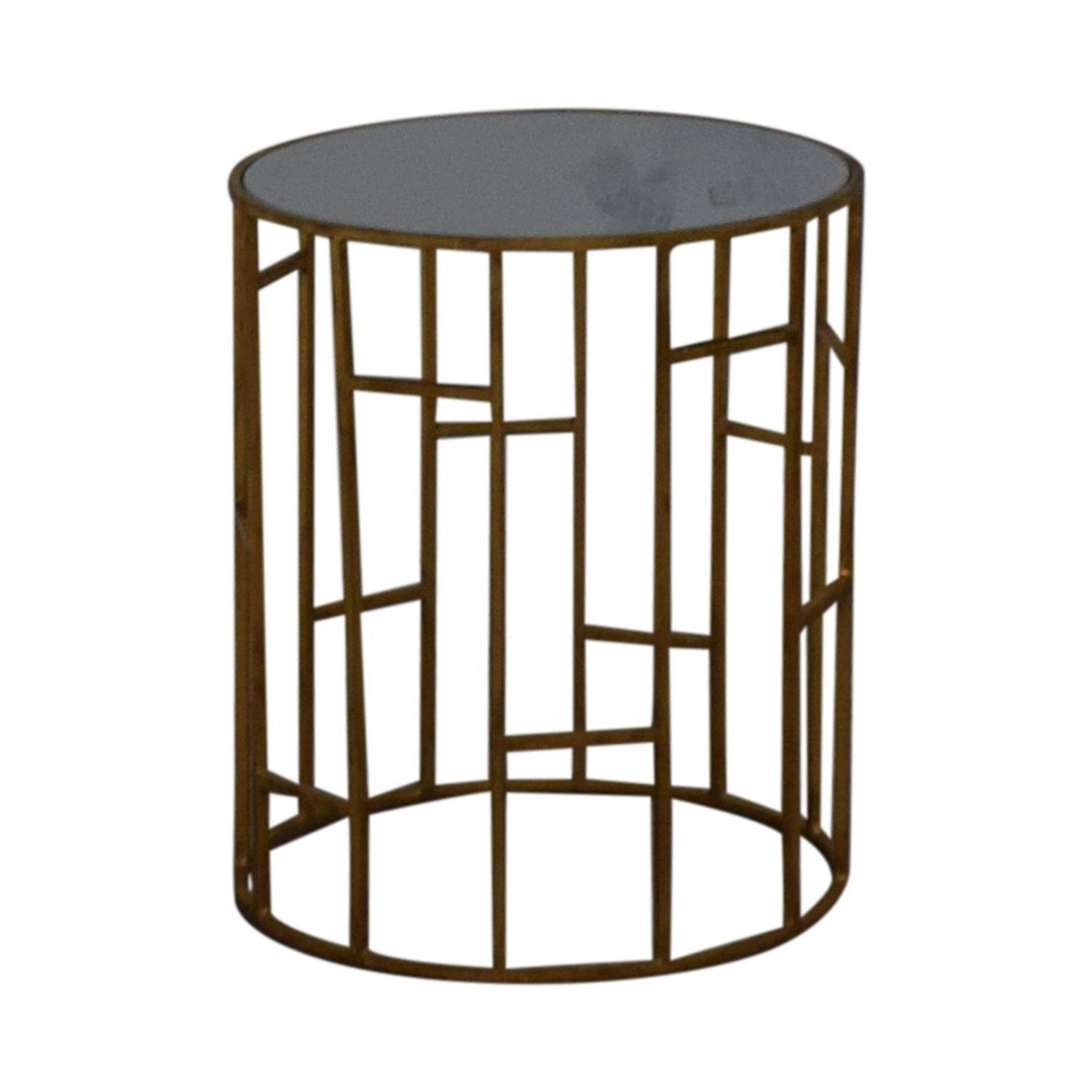 Safavieh Safavieh Doreen Gold & Glass Accent Table Tables