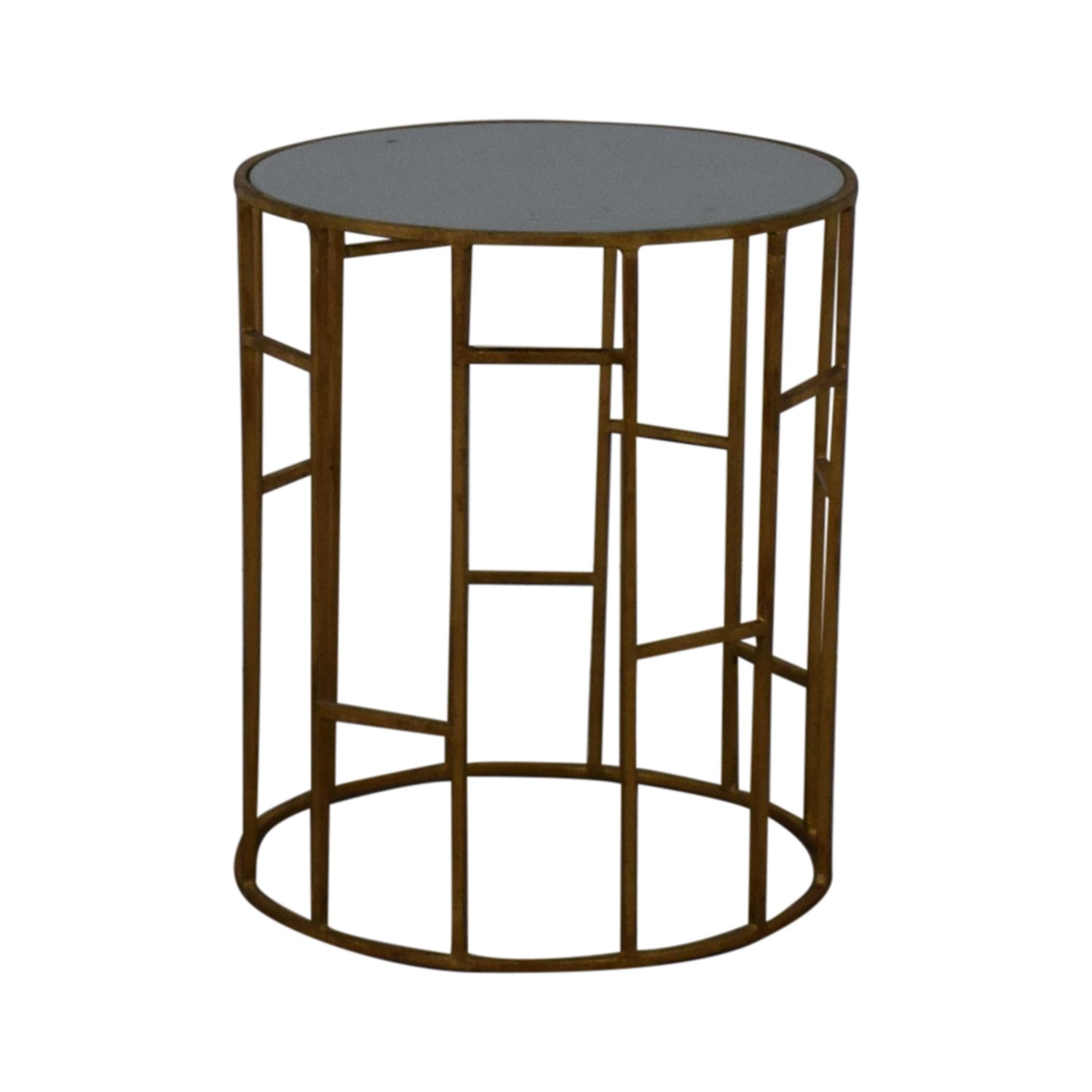 Safavieh Doreen Gold & Glass Accent Table sale