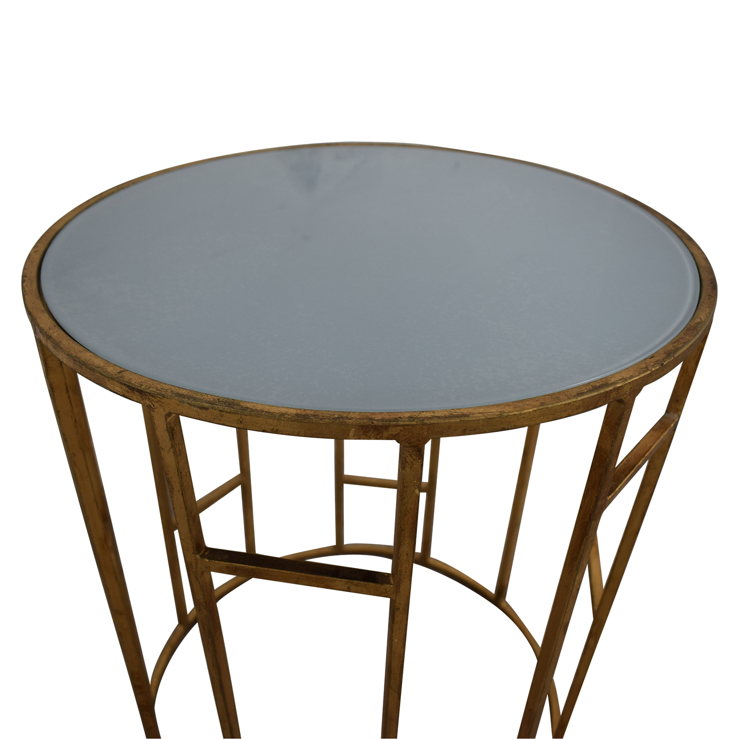 Safavieh Doreen Gold & Glass Accent Table / Accent Tables