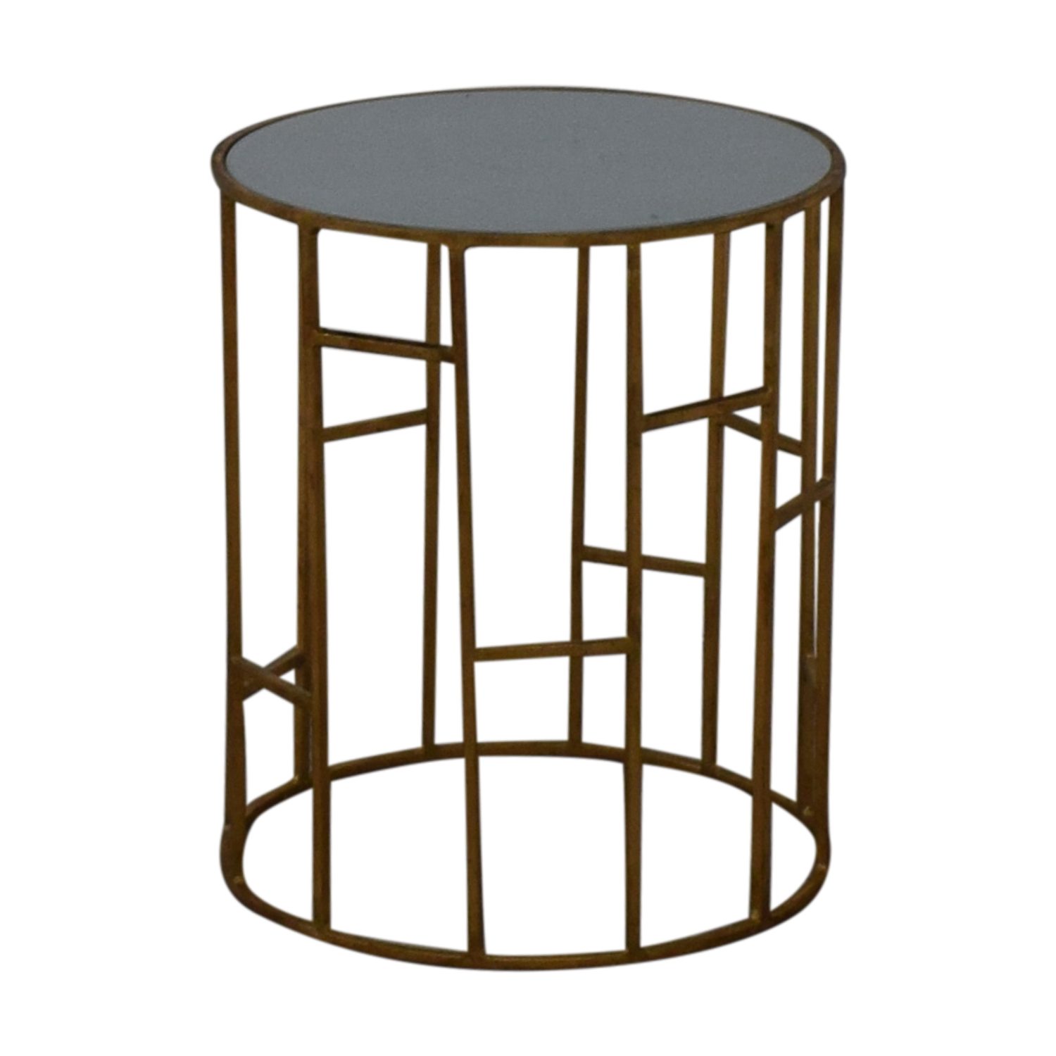 Safavieh Safavieh Doreen Gold & Glass Accent Table gold