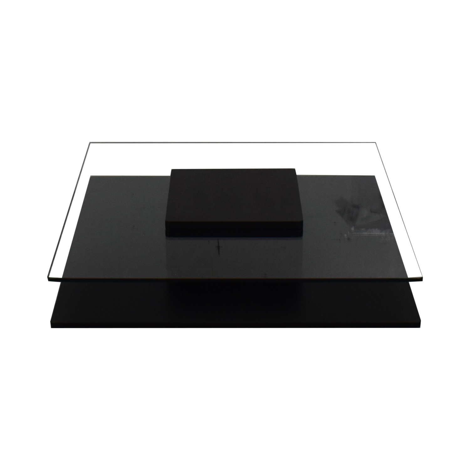 Contemporary Tinted Glass Coffee Table / Tables