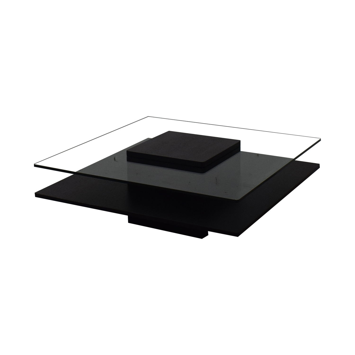 Contemporary Tinted Glass Coffee Table Tables