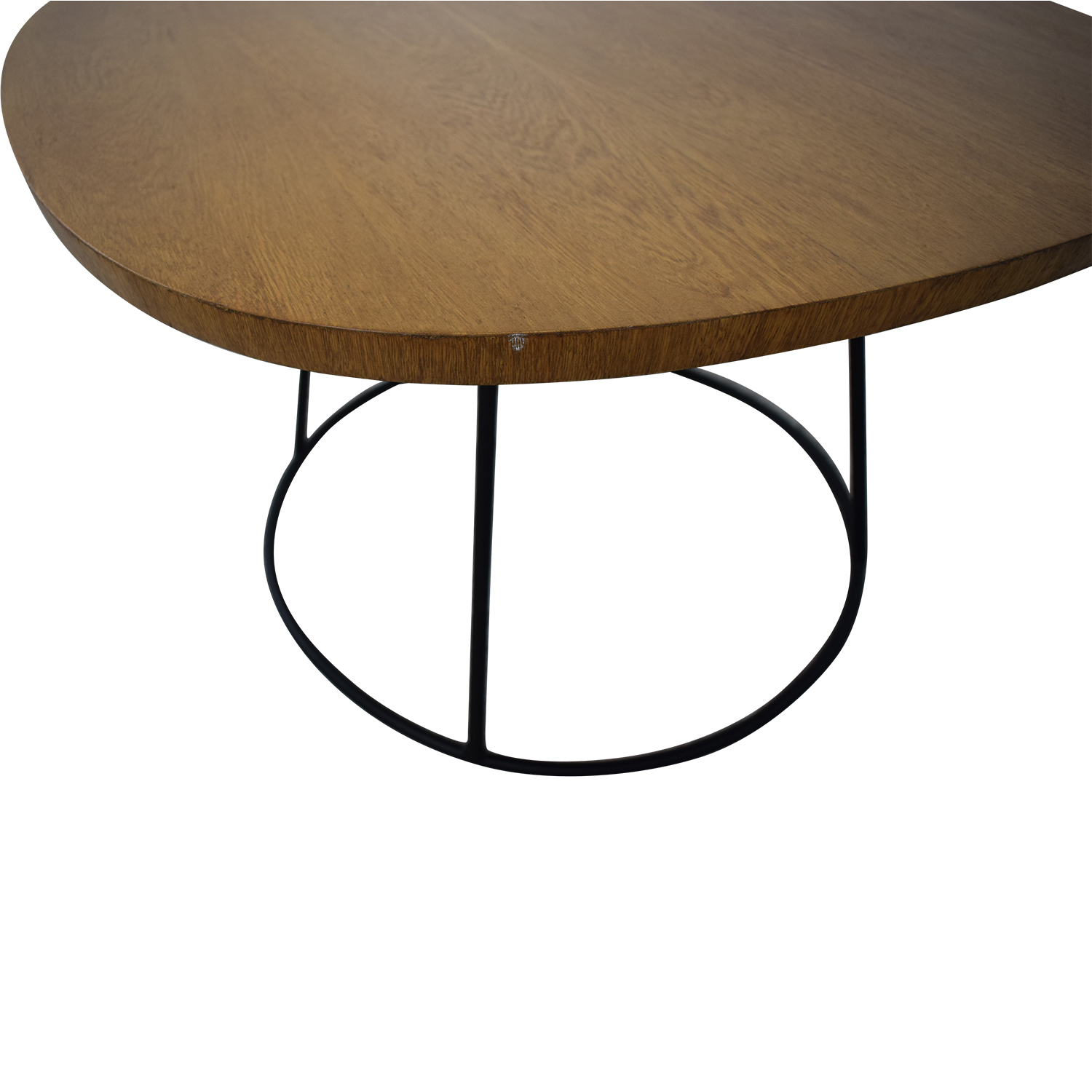 Zientte Zientte Sierra Round Cornered Square Side Table walnut brown
