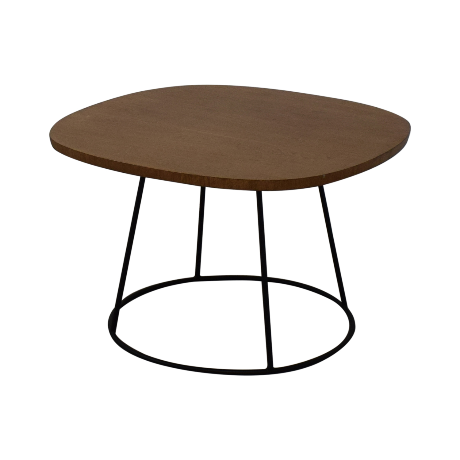 Zientte Zientte Sierra Round Cornered Square Side Table on sale