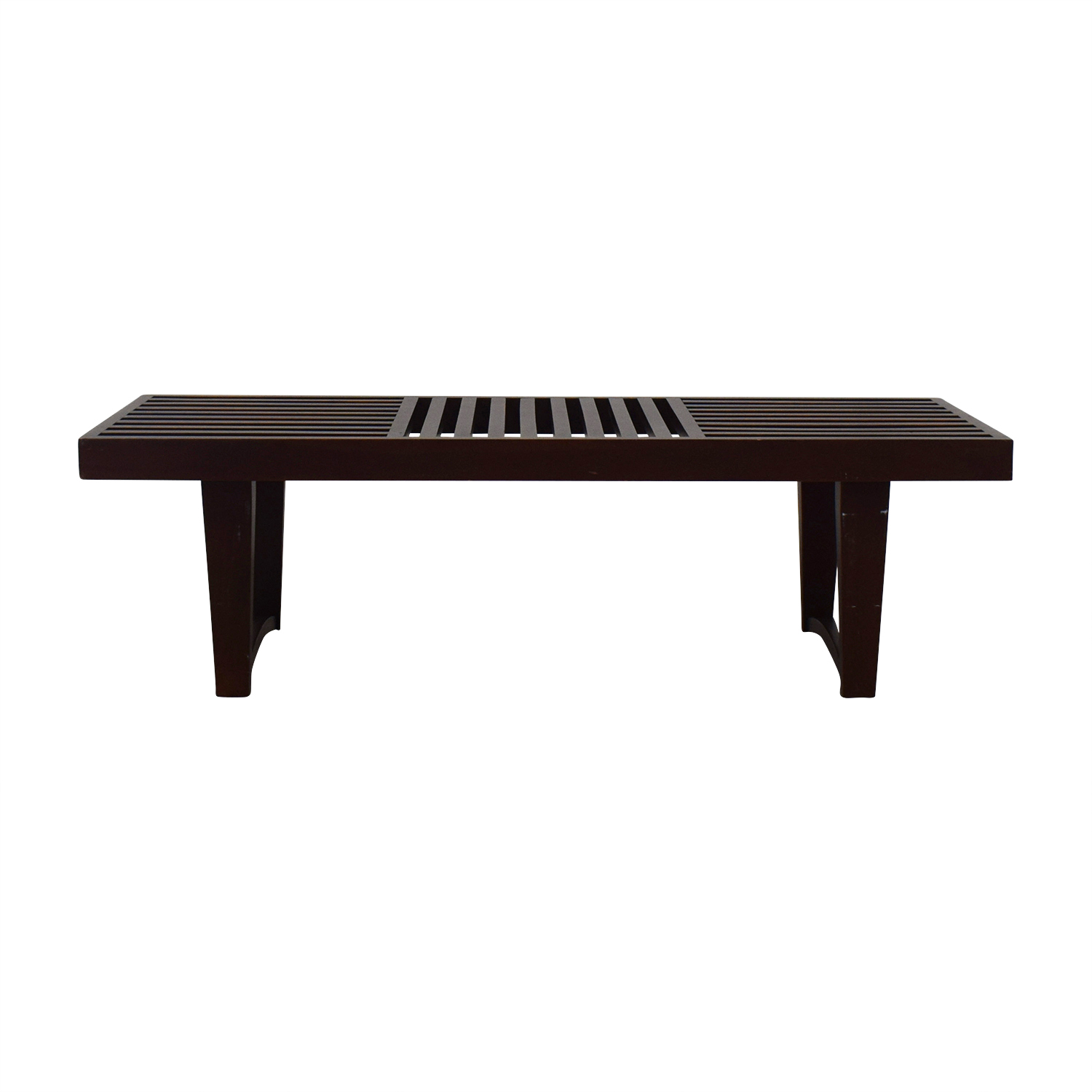 Geometric Entry Bench used