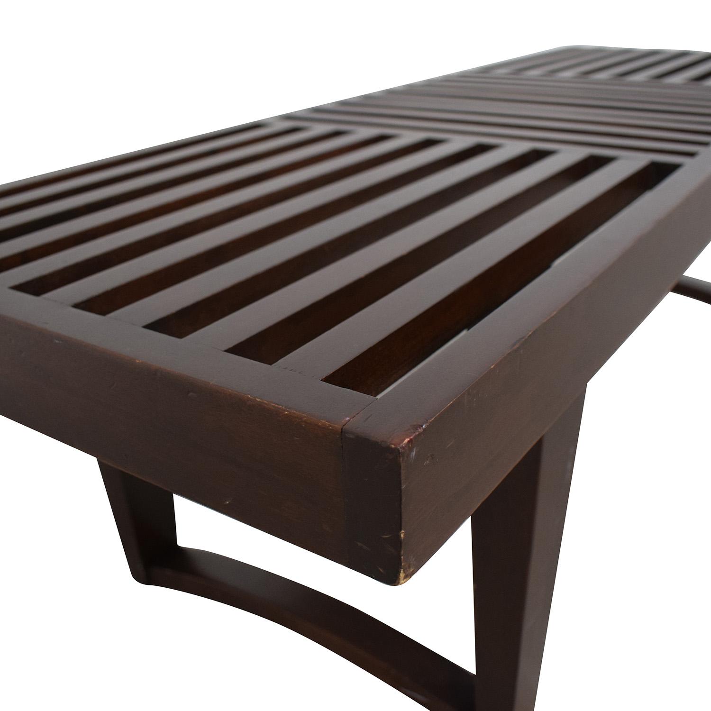 Geometric Entry Bench