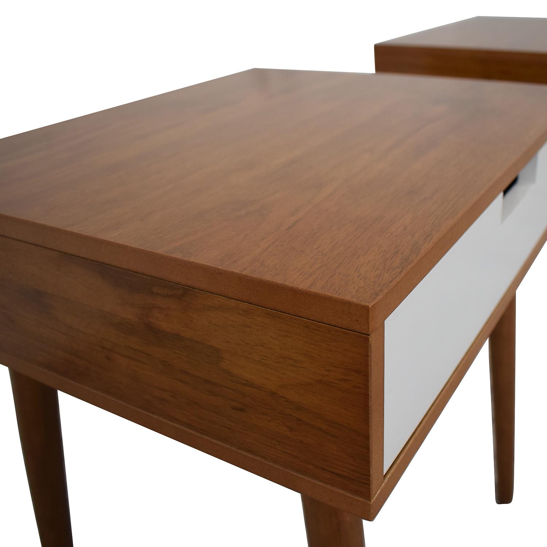 Wood Bedside Tables nj