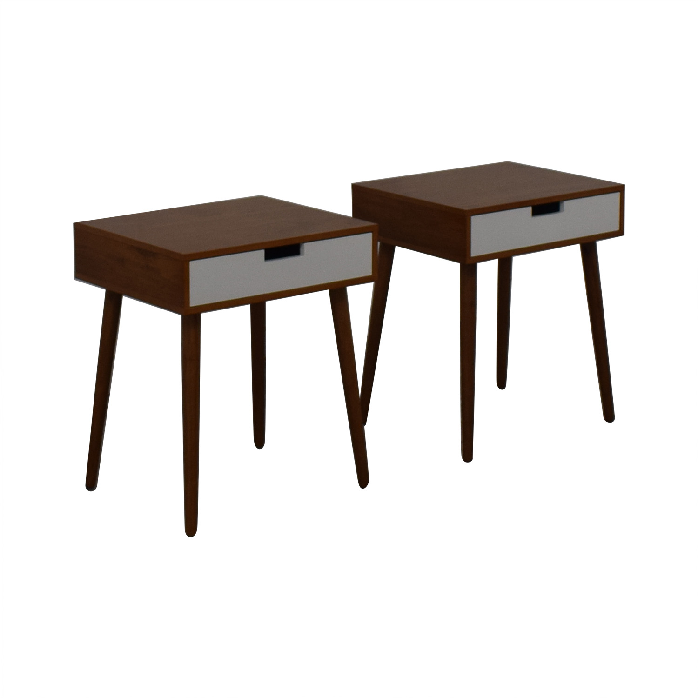 Wood Bedside Tables End Tables
