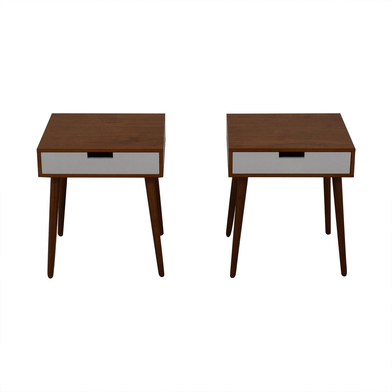 Wood Bedside Tables