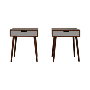 Wood Bedside Tables dimensions