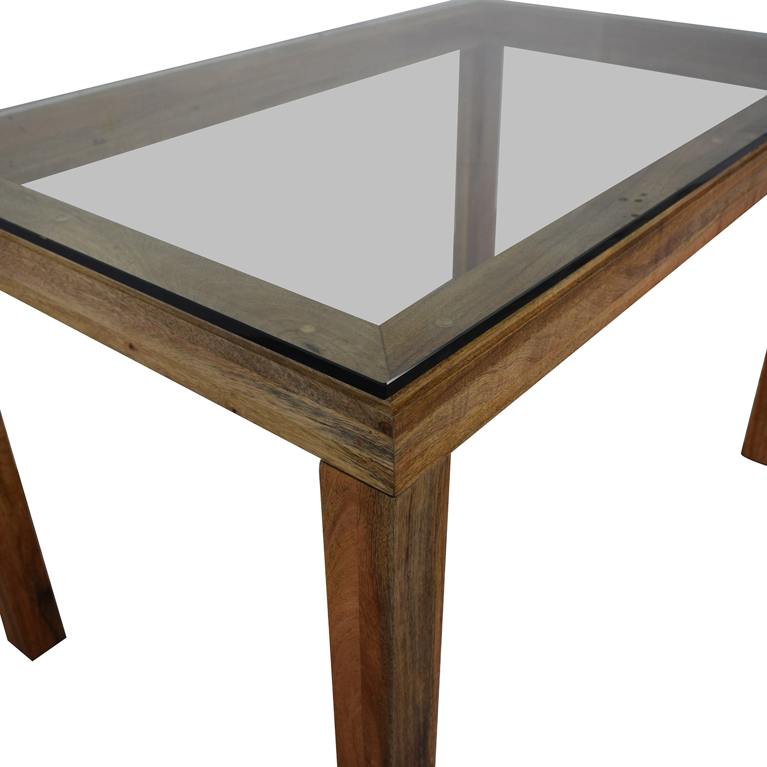 West Elm West Elm Glass Top Table price