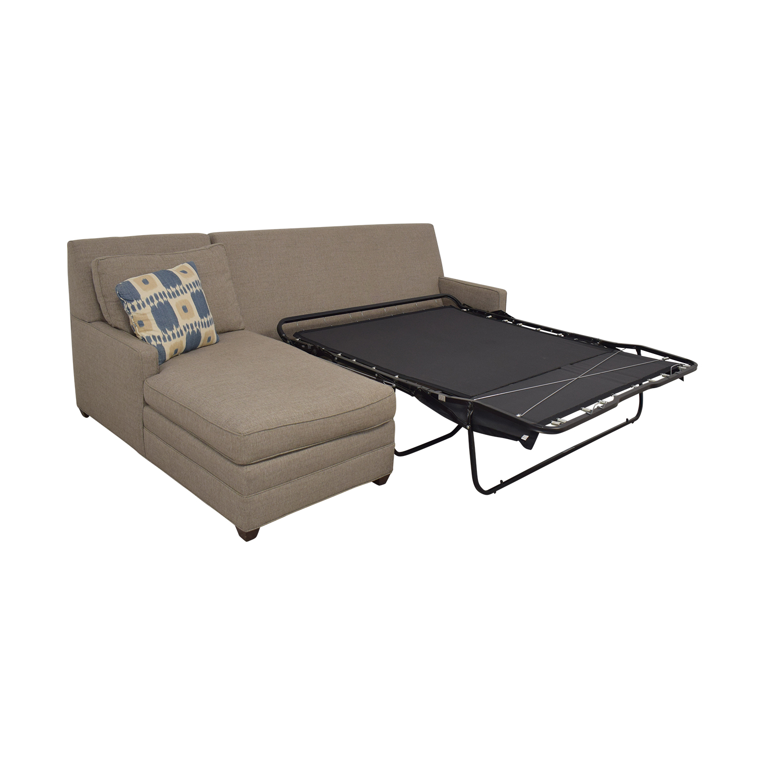 shop Vanguard Furniture Vanguard Furniture Left Chaise Queen Sleeper Sofa online