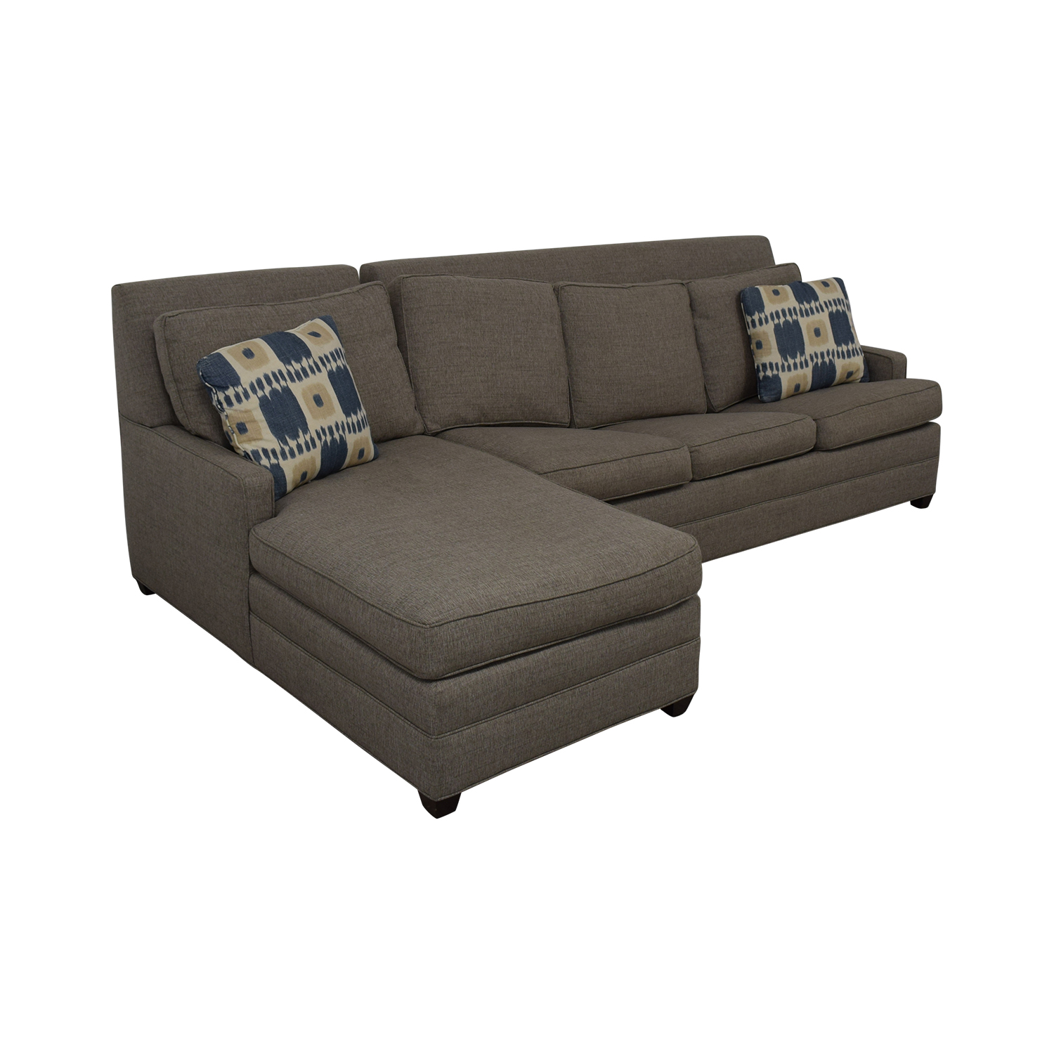 Vanguard Furniture Left Chaise Queen Sleeper Sofa sale