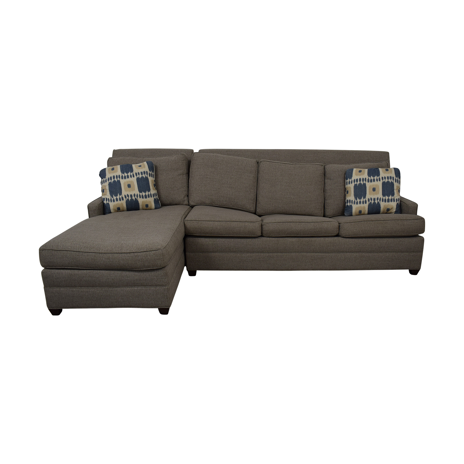 Vanguard Furniture Vanguard Furniture Left Chaise Queen Sleeper Sofa Sofas