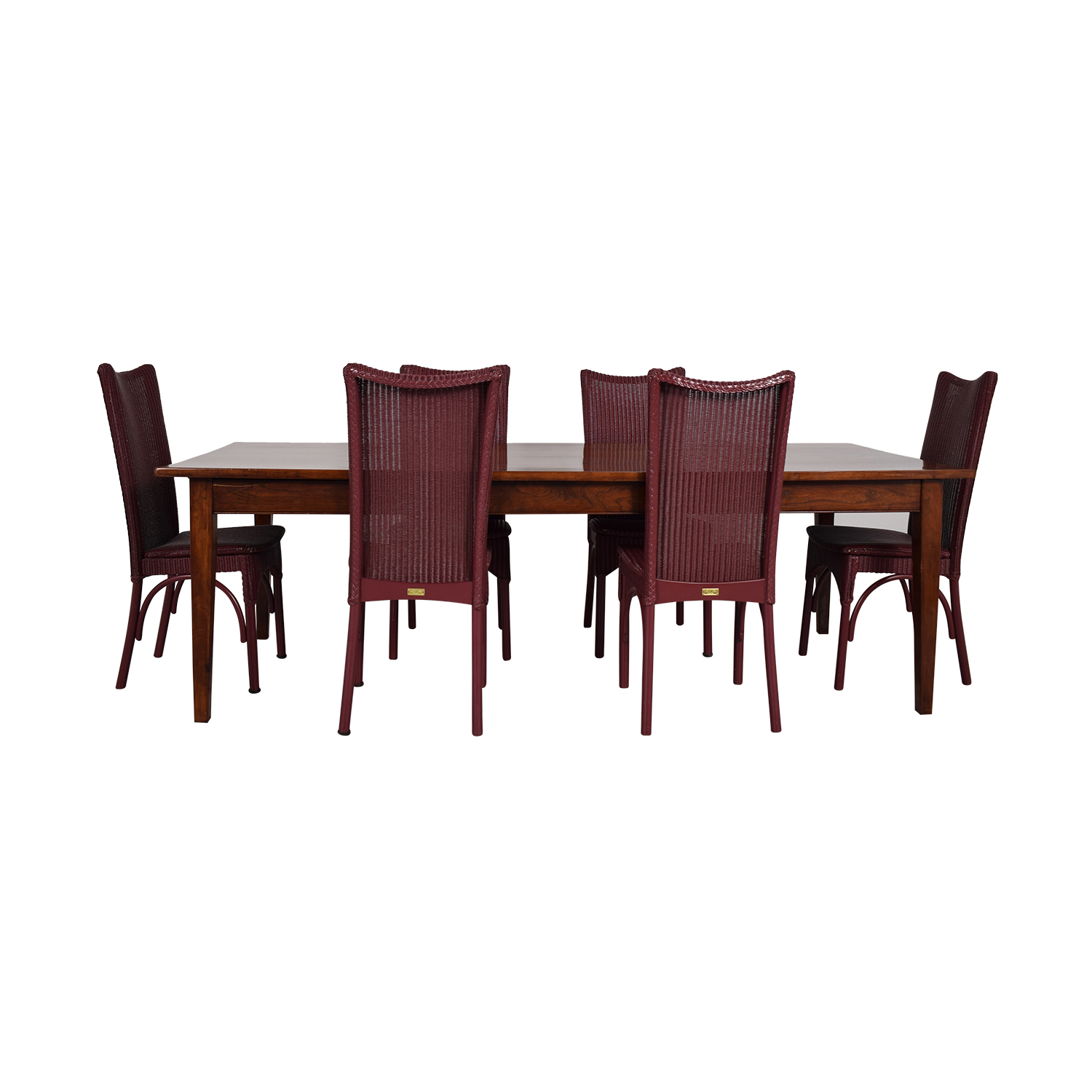 Loom USA Dining Chairs And Extendable Dining Table dimensions