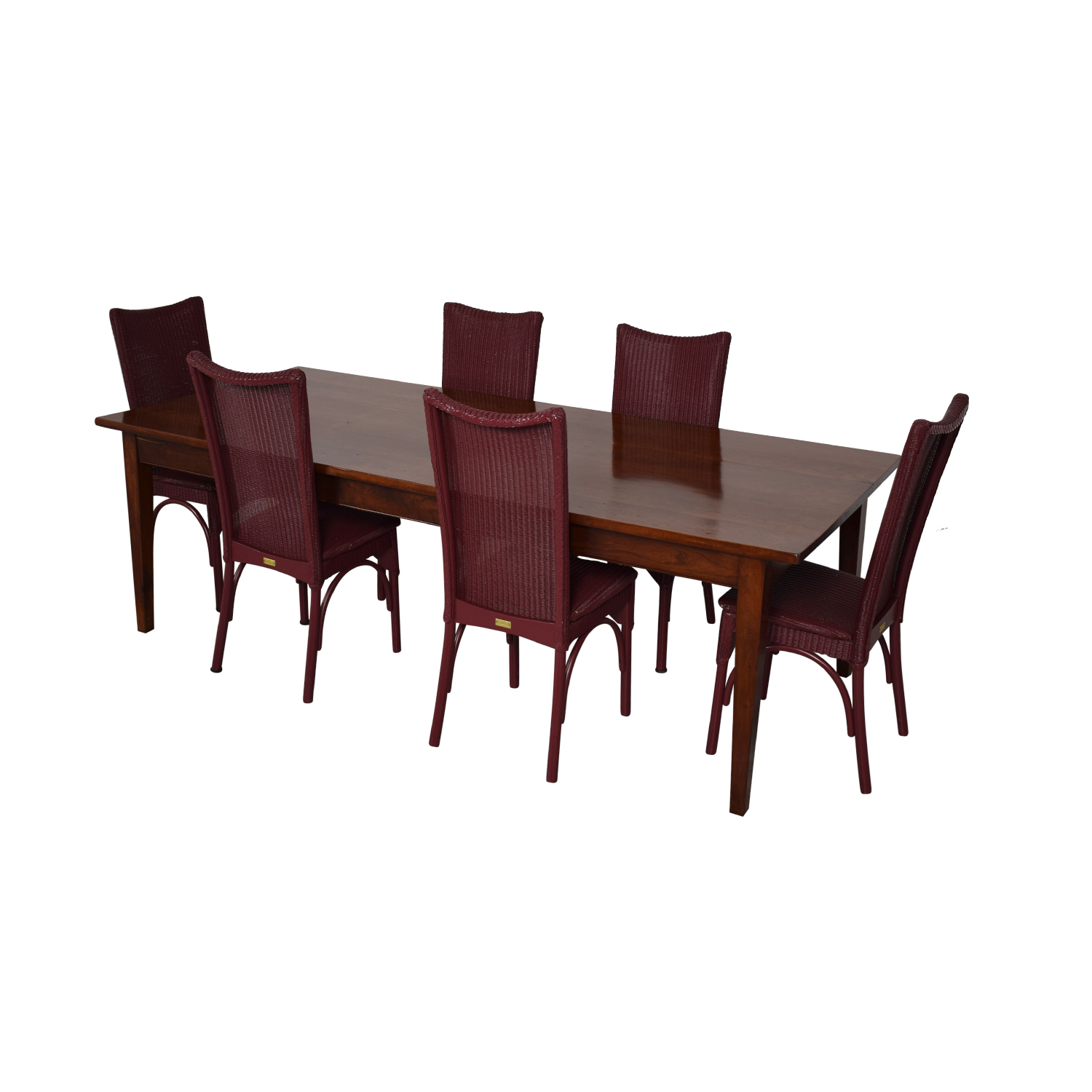 Loom USA Dining Chairs And Extendable Dining Table coupon