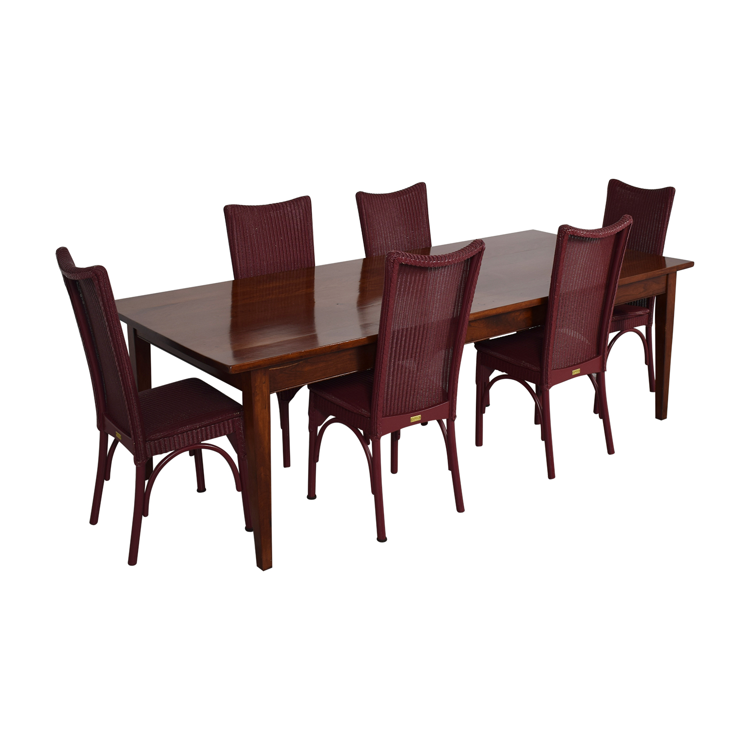 buy Loom USA Dining Chairs And Extendable Dining Table