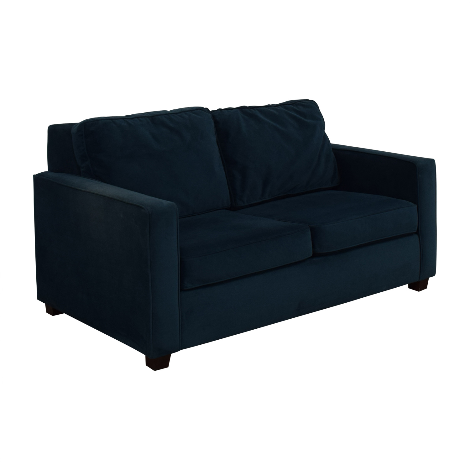 shop West Elm Henry Loveseat West Elm Loveseats